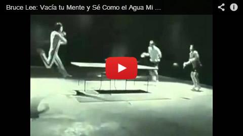 Bruce Lee: Vacía tu Mente y Sé Como el Agua Mi Amigo