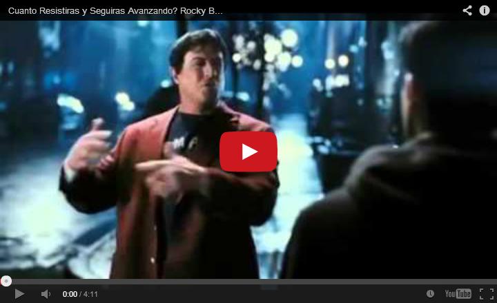Hasta que Empieces a Tener FE en TI, No Tendrás una Vida. R. Balboa